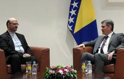 رئيس وزراء البوسنة يشكر ايران على مساعداتها لبلاده أثناء الحرب