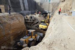 استفاده از تجهیزات پیشرفته در عملیات نجات حادثه متروی قم