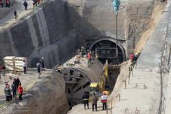 İran'da metro tüneli çöktü