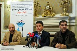نشست خبری رئیس فدراسیون جهانی شطرنج