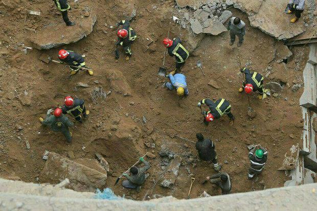 ۶ مصدوم حادثه مترو قم به مراکز درمانی منتقل شدند