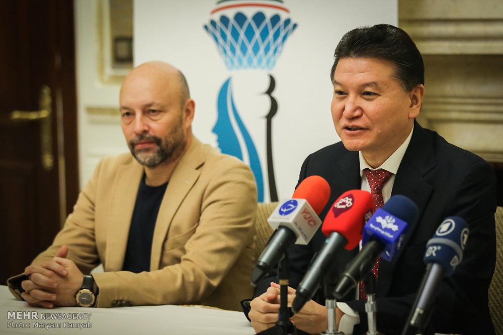 نشست خبری مسابقات شطرنج بانوان جهان