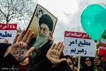 راهپیمایی یوم الله ۲۲ بهمن در گرگان - عکس : راحله حصاری