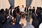 Esad'ın terör mağdurlarıyla görüşmesi