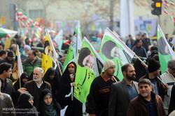 راهپیمایی یوم الله ۲۲ بهمن در تهران -۳