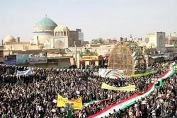 گردشگران خارجی در جشن ۴۰ سالگی انقلاب یزد حضور مییابند
