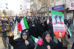 راهپیمایی 22 بهمن قزوین