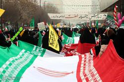 راهپیمایی یوم الله 22 بهمن در استانها - مشهد