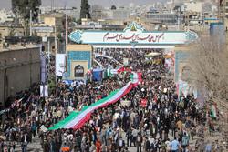 راهپیمایی یوم الله 22 بهمن در استانها - شیراز