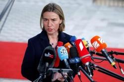 موغيريني: لم نناقش ولا نناقش مسألة فرض عقوبات إضافية ضد إيران