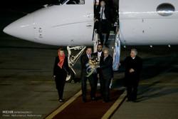 وصول رئيس وزراء السويد الى طهران / صور