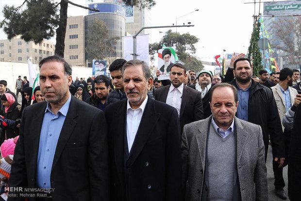 مسيرات ذكرى انتصار الثورة الاسلامية في طهران2