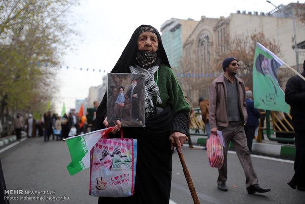 مسيرات ذكرى انتصار الثورة الاسلامية في طهران 2