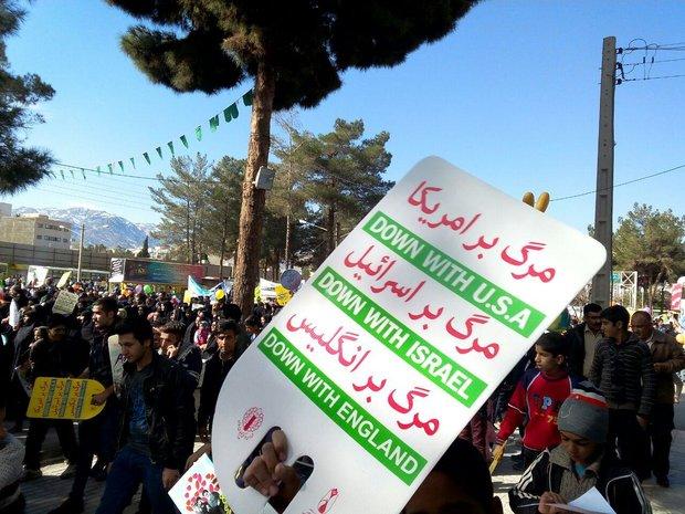 مسيرات ذكرى انتصار الثورة الاسلامية  بیرجند