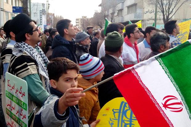 مسيرات ذكرى انتصار الثورة الاسلامية  جهارمحال