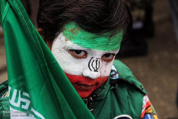 مسيرات ذكرى انتصار الثورة الاسلامية کردستان