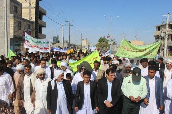 مسيرات ذكرى انتصار الثورة الاسلامية  زرآباد