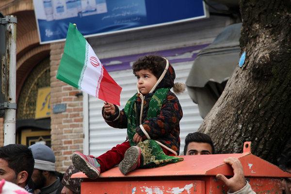 مسيرات ذكرى انتصار الثورة الاسلامية سنندج