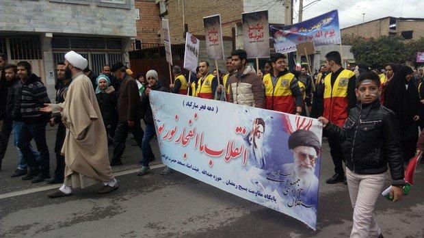 مسيرات ذكرى انتصار الثورة الاسلامية كركان