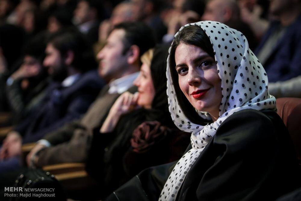 عکس لیلا حاتمی و مادرش , عکس های جدید لیلا حاتمی , لیلا حاتمی در اختتامیه فیلم فجر , لیلا حاتمی و مادرش