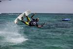 فینال مسابقات کیبل اسکی به مناسبت دهه فجر در جزیره کیش