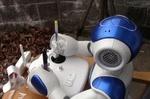 فیلم/ روباتی که پهپاد به آسمان می فرستد