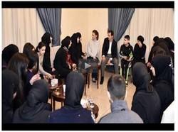 دیداری بهشار ئهسهد لهگهڵ ژنانی ڕزگاربووی دهستی داعش