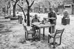 ثلوج مدينة همدان /صور