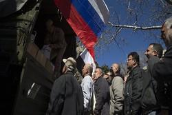 کمک های بشردوستانه روسیه به سوریه