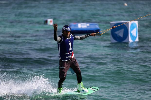 Cable Ski tournament in Kish Island