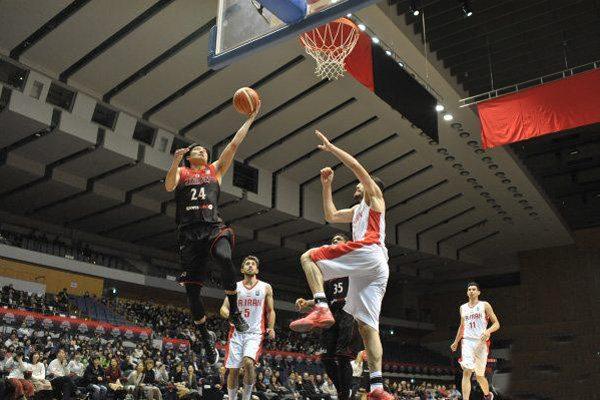 دیدار تیم ملی بسکتبال ایران و ژاپن