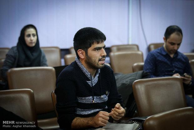 مؤتمر احياء ذكرى ثورة ١٤ فبراير في وكالة مهر للأنباء