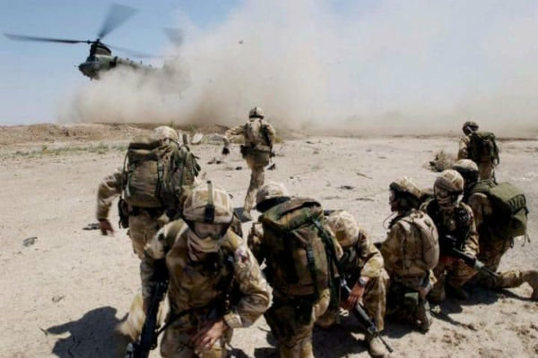 ۵ نظامی انگلیسی در دیرالزور سوریه کشته شدند