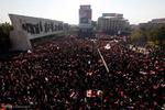 الصدر يدعو الى تظاهرة مليونية سلمية تندد بالوجود الاميركي