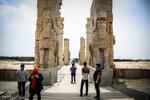 تخت جمشید عظیم ترین بنای سنگی جهان/ آرامگاه هخامنشیان را ببینید