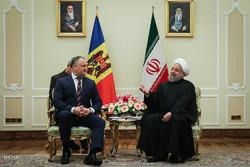 دیدار رئیس جمهور مولداوی با رئیس جمهور