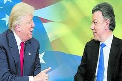 ترامپ برای حمایت از کلمبیا ابراز تمایل کرد