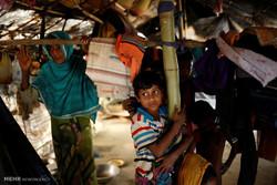 کمپ مسلمانان میانماری در بنگلادش