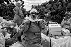 مراکش کی زحمت کش اور بار حمل کرنے والی عورتیں