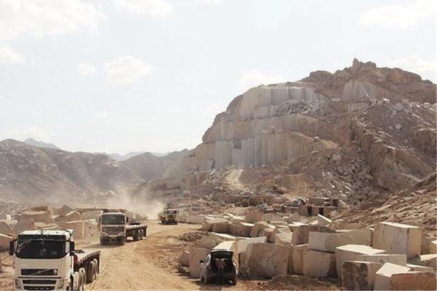 استان اصفهان ۱۰ درصد بازار سنگ کشور را در اختیار دارد