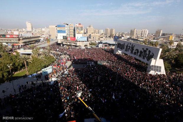 درگیری طرفداران مقتدی صدر با نیروهای عراقی