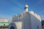 کلیسای برفی در روسیه