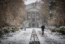 Tahran'da kar yağışı