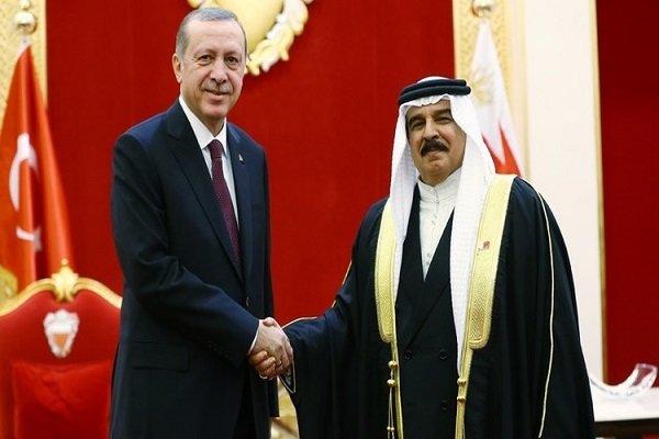 Erdoğan Bahreyn Kralı'yla görüştü