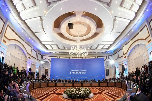 Astana to hold 3rd round of Syria talks Wed.