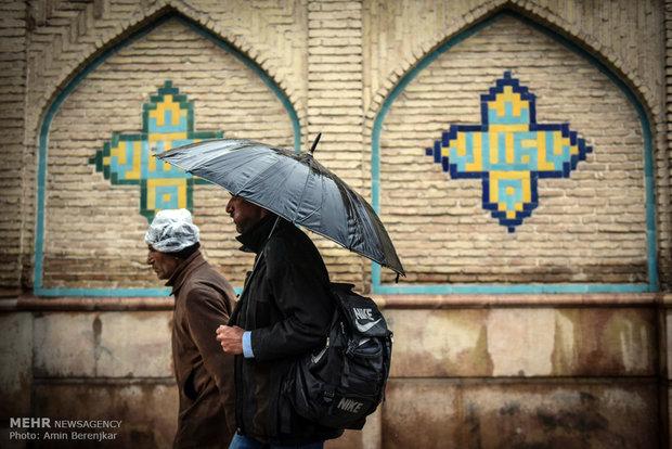عصر يوم شيرازي ماطر