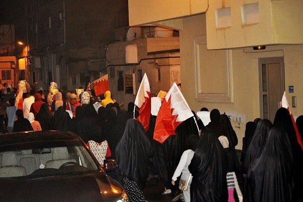 Bahreyn halkının Al Halife karşıtı gösterisi / video