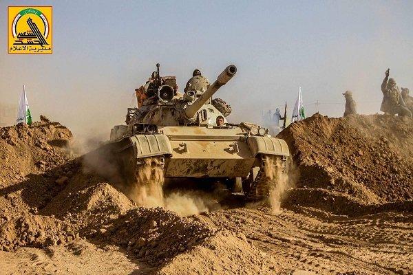 تنظيم #داعش يستخدم لأول مرة الدبابات لفتح ثغرة بإتجاه #سوريا
