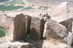 شناسایی معادن سنگ هخامشی در دشت پاسارگاد