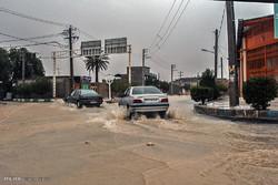 سیلاب در منطقه ی گله دار جنوب استان فارس